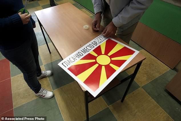 اوج مناقشه اسمی انتخابات مقدونیه