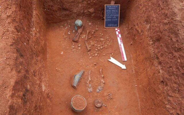 کشف آثار و بقایای جنگجویان باستانی در یونان