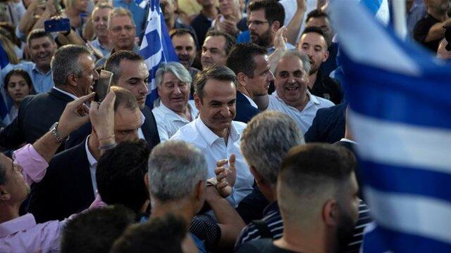 برگزاری انتخابات پارلمانی یونان