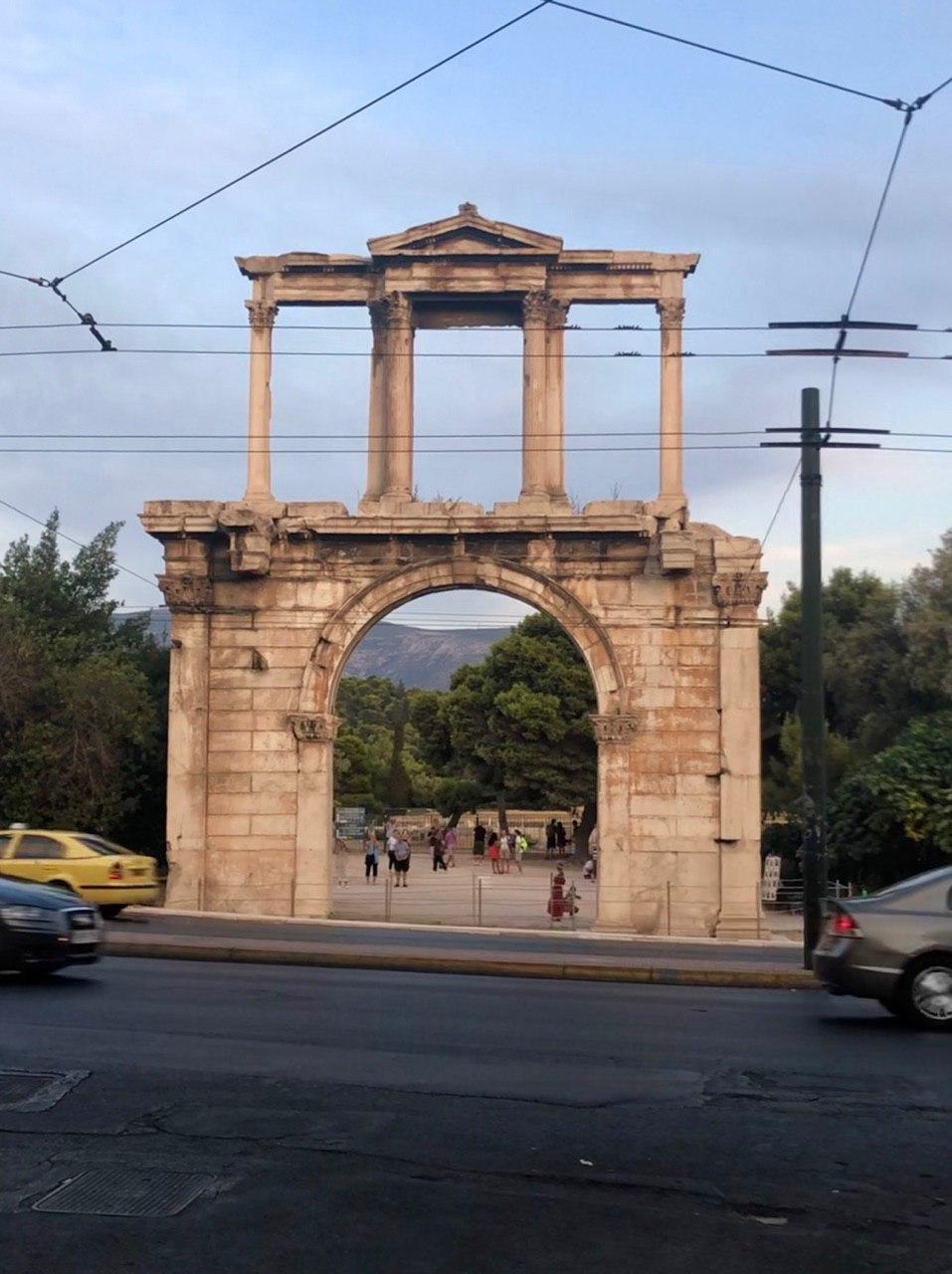 دروازه معبد زئوسzeus temple greece