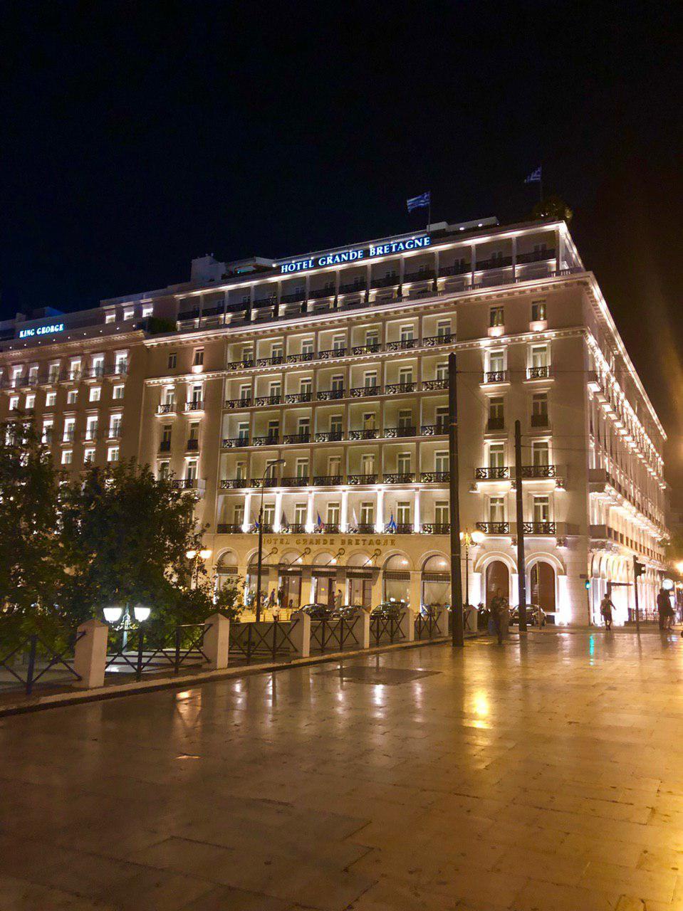 هتل بریتانیای کبیر - میدان سیداقما -syntagma