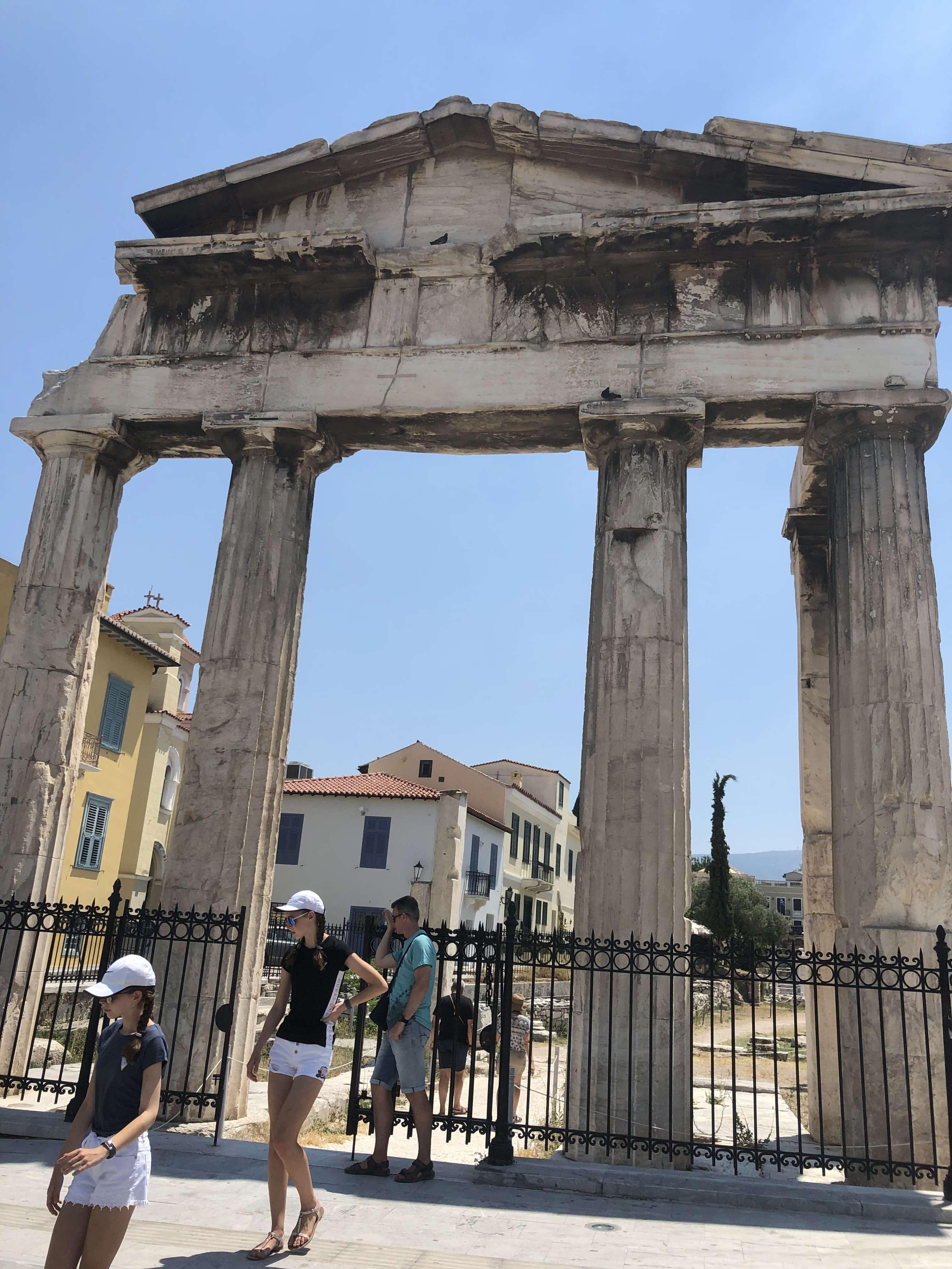 سایت تاریخی رومن اگورا(Roman agora)