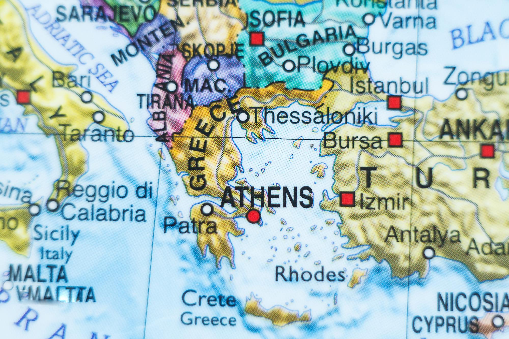 جغرافیای یونان